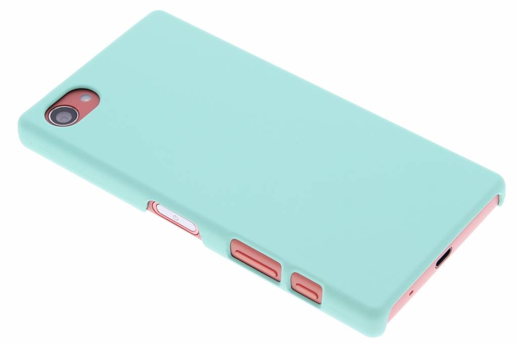 Mintgroen pastel hardcase hoesje voor de Sony Xperia Z5 Compact