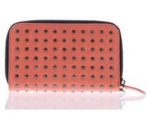 Decoded Leather Zip Wallet - Roze