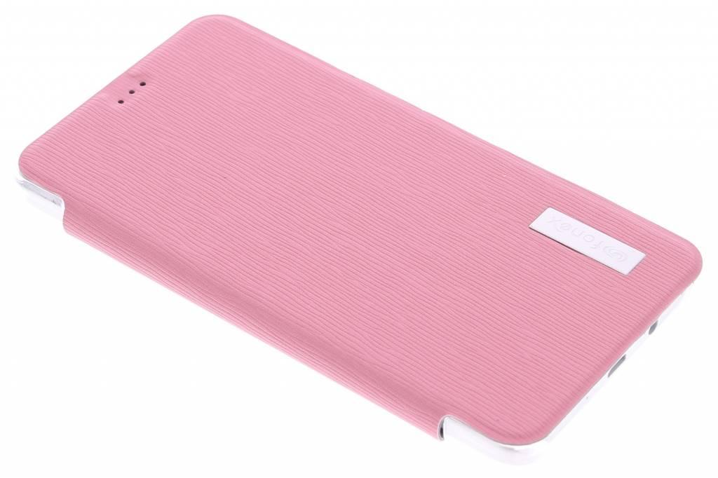 Fonex Crystal Slim Book voor de Samsung Galaxy A5 - Pink