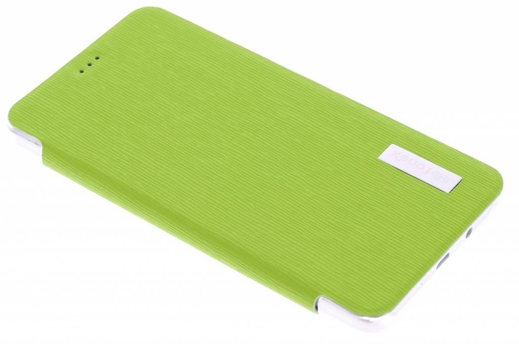 Fonex Crystal Slim Book voor de Samsung Galaxy A5 - Green
