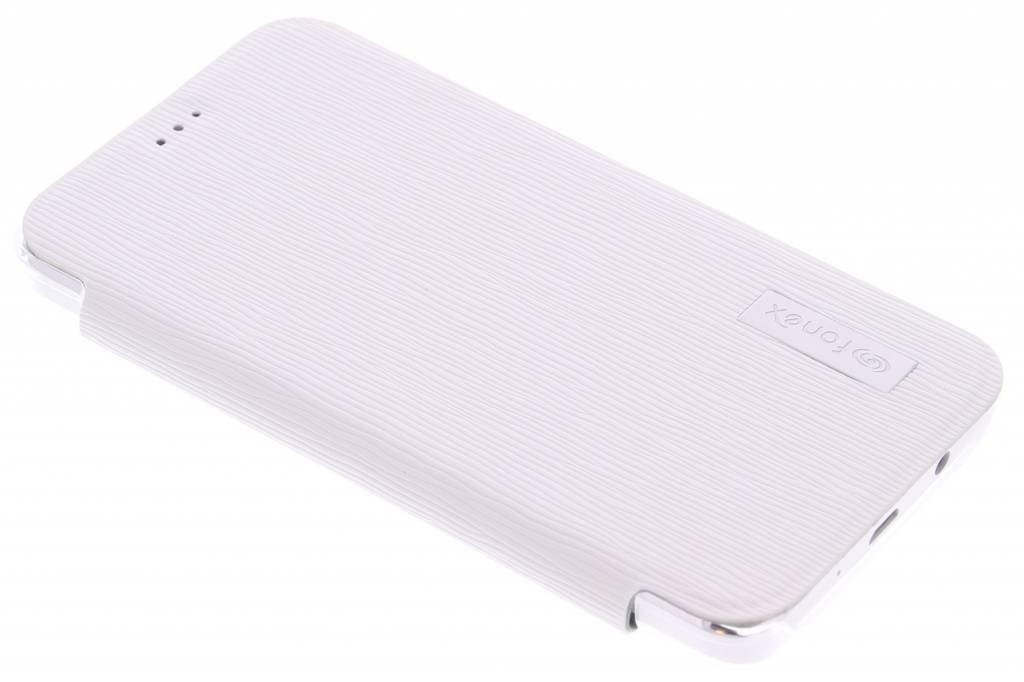 Fonex Crystal Slim Book voor de Samsung Galaxy A3 - White