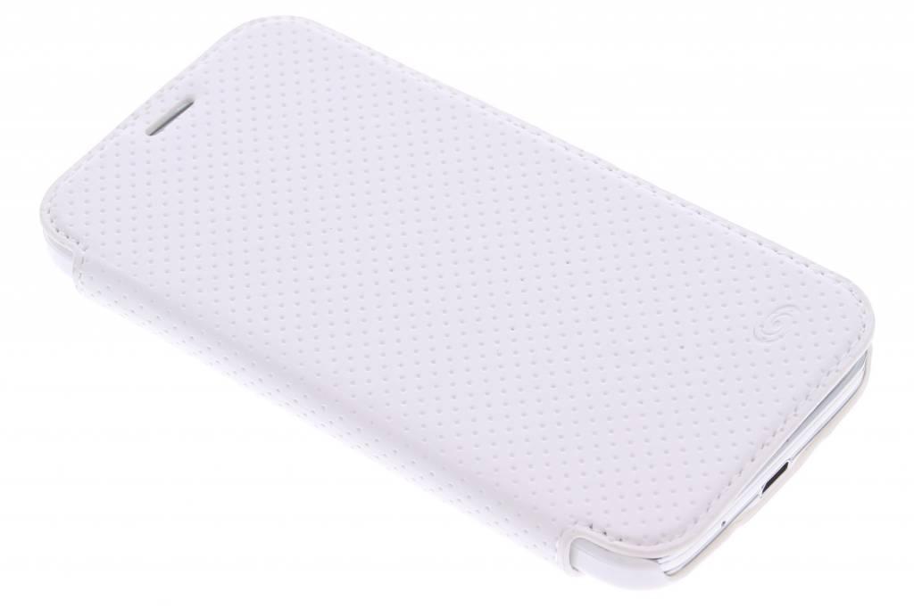 Fonex Pro Wallet Stand Case voor de Samsung Galaxy S5 Mini - White