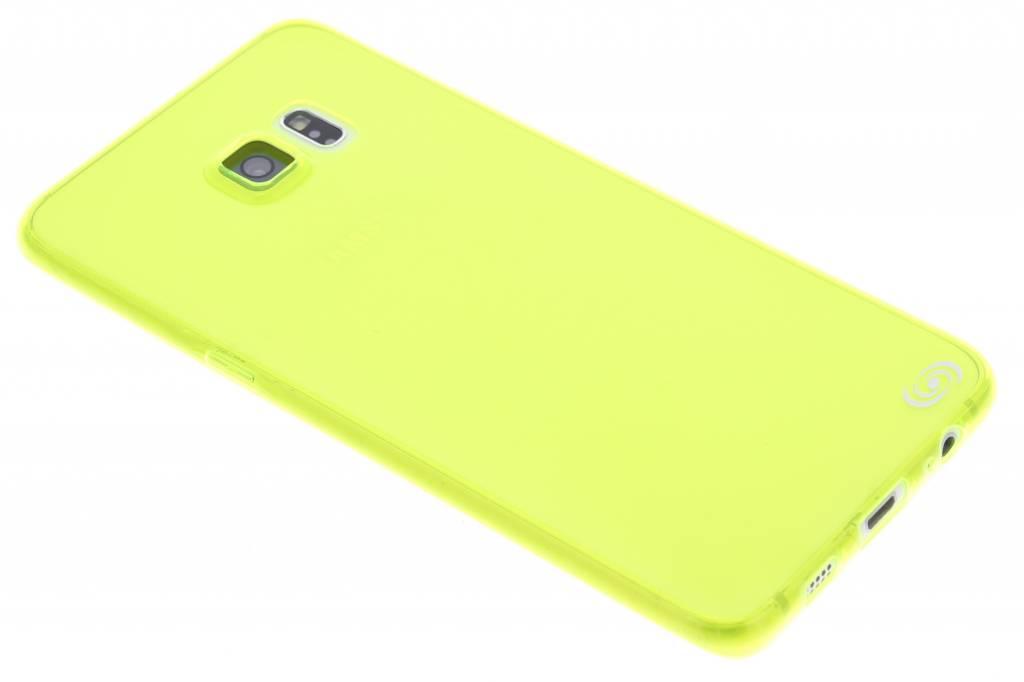 Fonex Invisible Ultra Thin Case voor de Samsung Galaxy S6 Edge Plus - Green