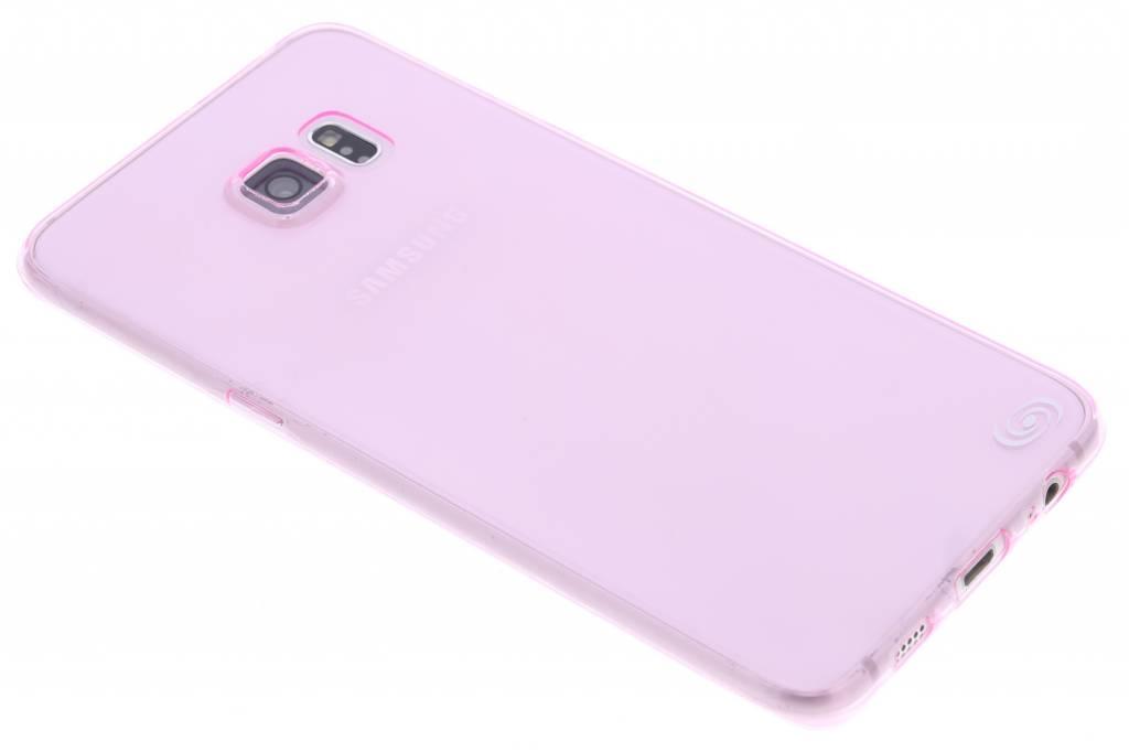 Fonex Invisible Ultra Thin Case voor de Samsung Galaxy S6 Edge Plus - Hot Pink