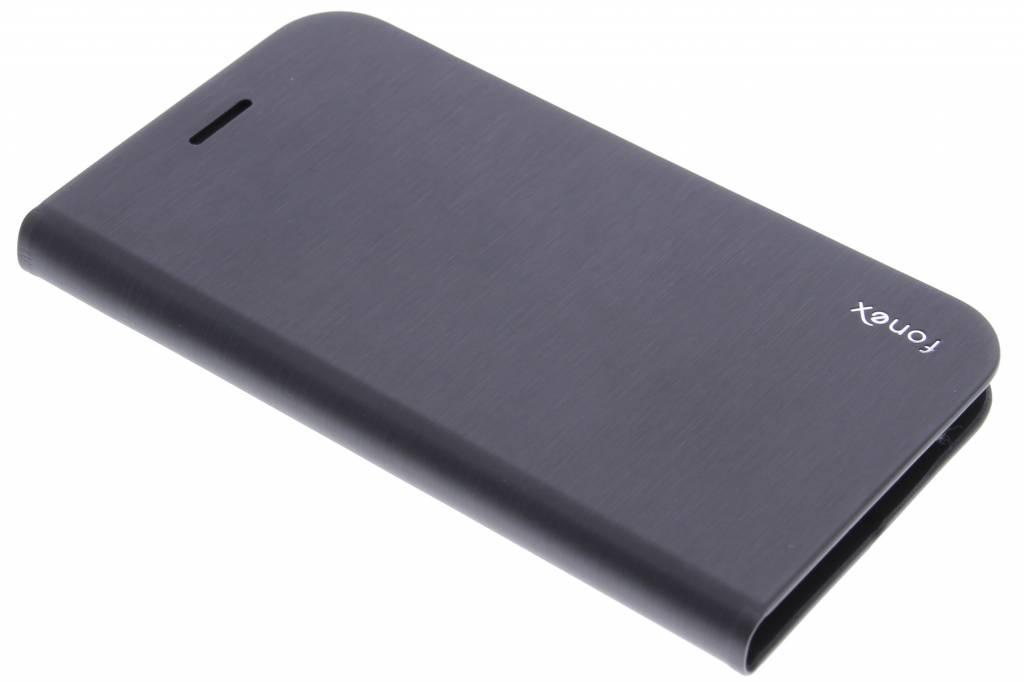 Fonex Shine Book Case voor de Samsung Galaxy S6 - Black
