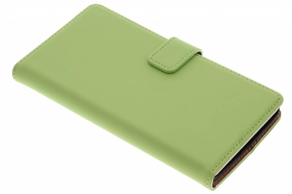 Selencia Luxe Book Case voor de OnePlus 2 - Groen
