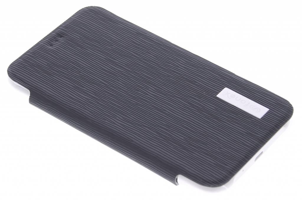 Fonex Crystal Slim Book voor de Samsung Galaxy J1 - Black
