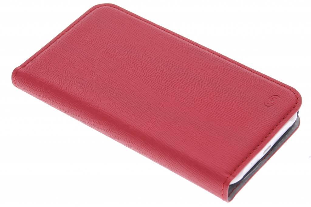 Fonex Classic Book voor de Samsung Galaxy J1 - Red