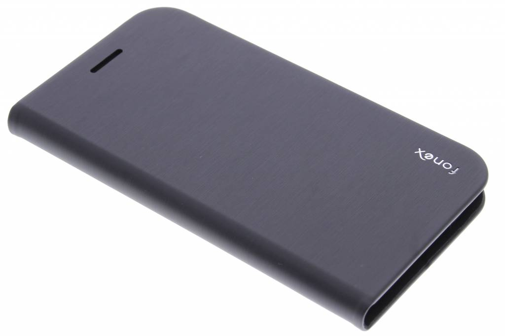 Fonex Shine Book Case voor de Samsung Galaxy S6 Edge - Grey