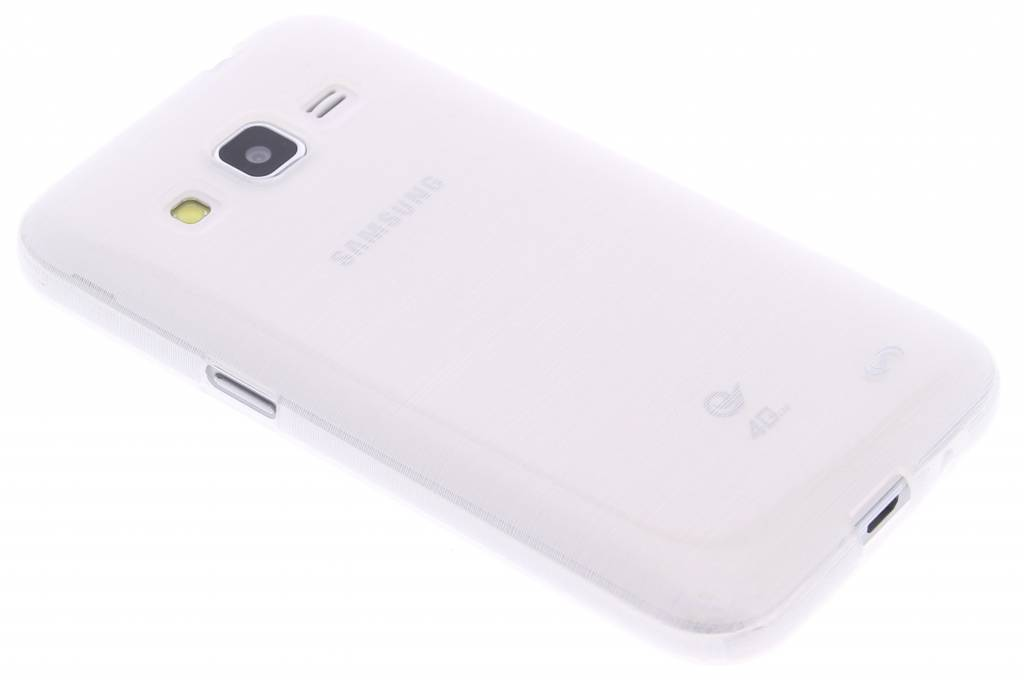 Fonex Perla TPU Case voor de Samsung Galaxy Core Prime - White