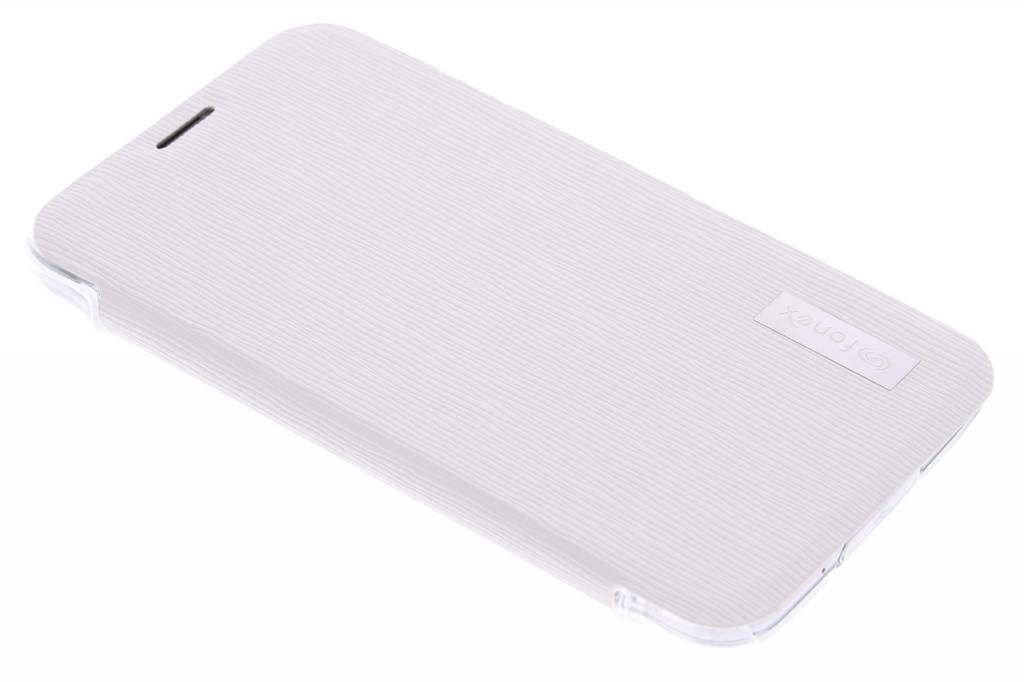 Fonex Crystal Slim Book Case voor de Samsung Galaxy S5 (Plus) / Neo - White