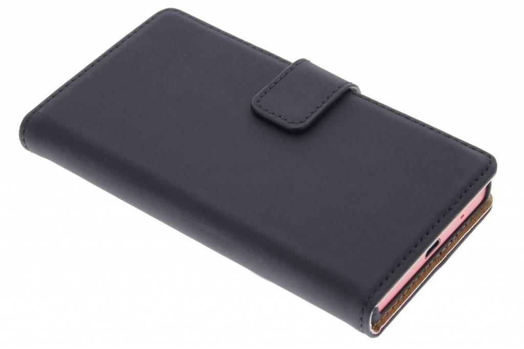 Selencia Luxe Book Case voor de Sony Xperia Z5 Compact - Zwart
