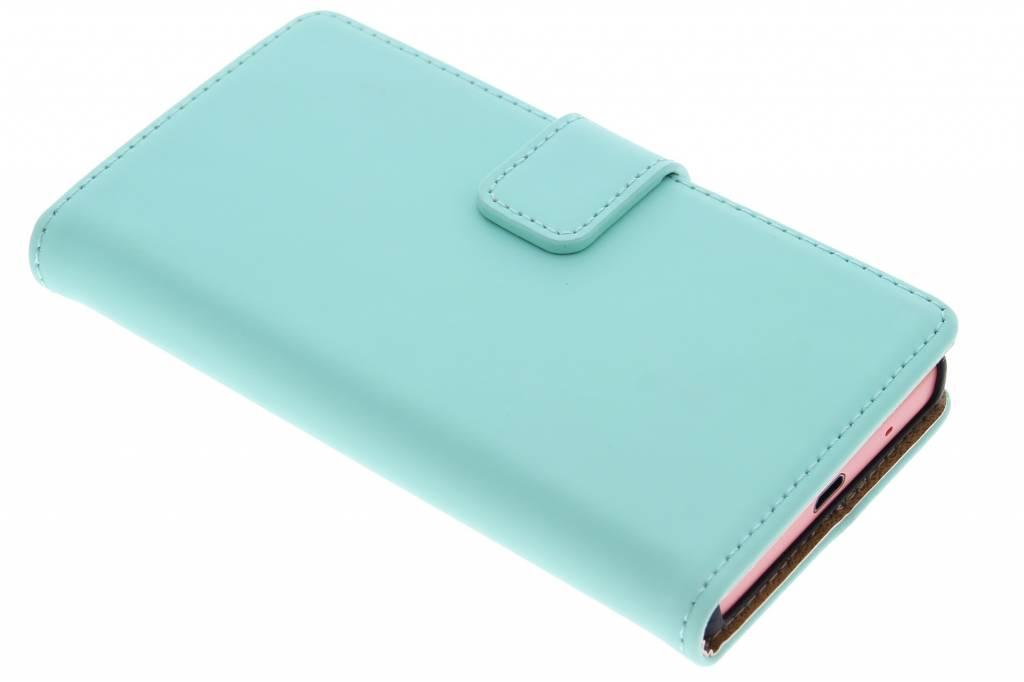 Selencia Luxe Book Case voor de Sony Xperia Z5 Compact - Mintgroen