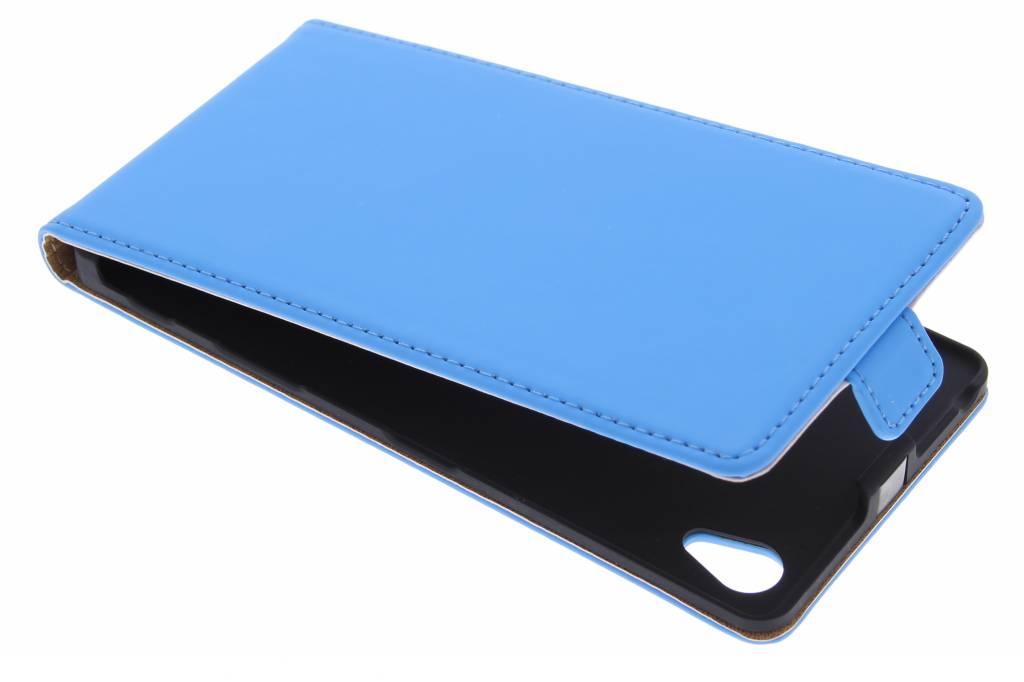 Selencia Luxe Flipcase voor de Sony Xperia Z5 Premium - Blauw