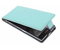 Selencia Luxe Flipcase Sony Xperia Z5 - Mintgroen