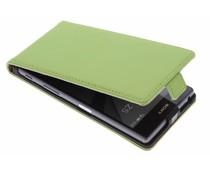 Selencia Luxe Flipcase Sony Xperia Z5 - Groen