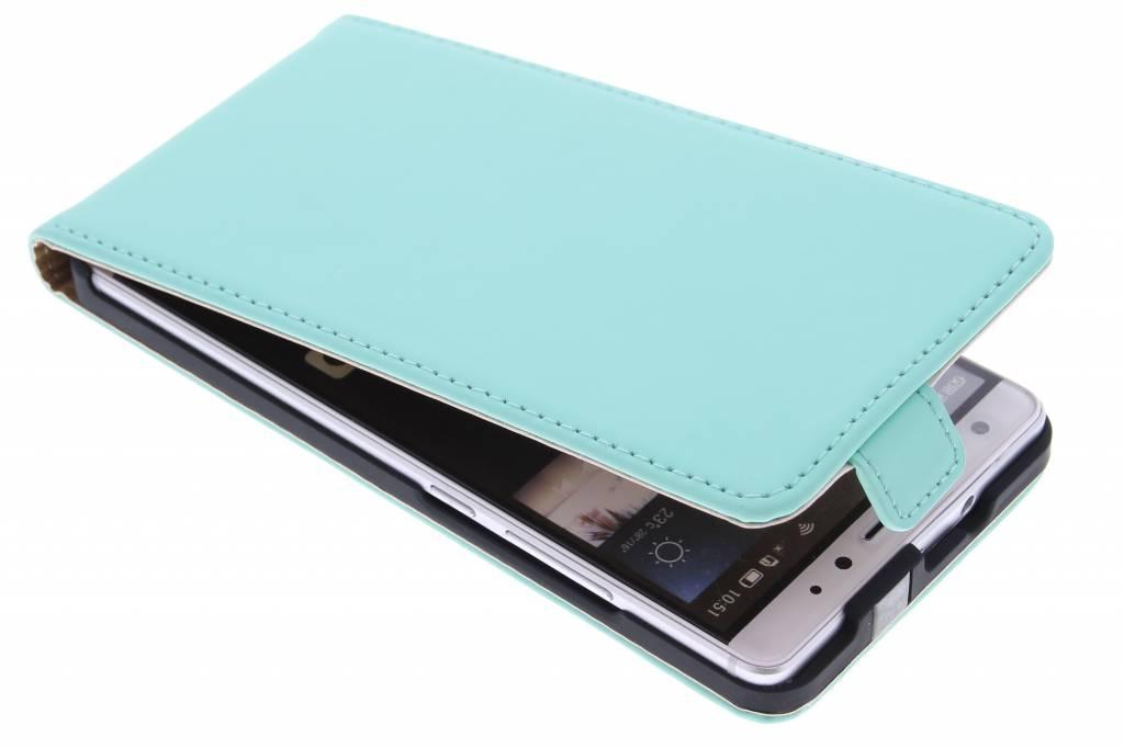 Selencia Luxe Flipcase voor de Huawei Mate S - Mintgroen