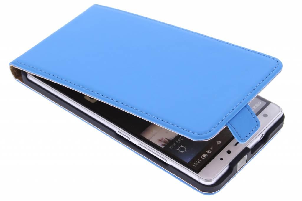 Selencia Luxe Flipcase voor de Huawei Mate S - Blauw