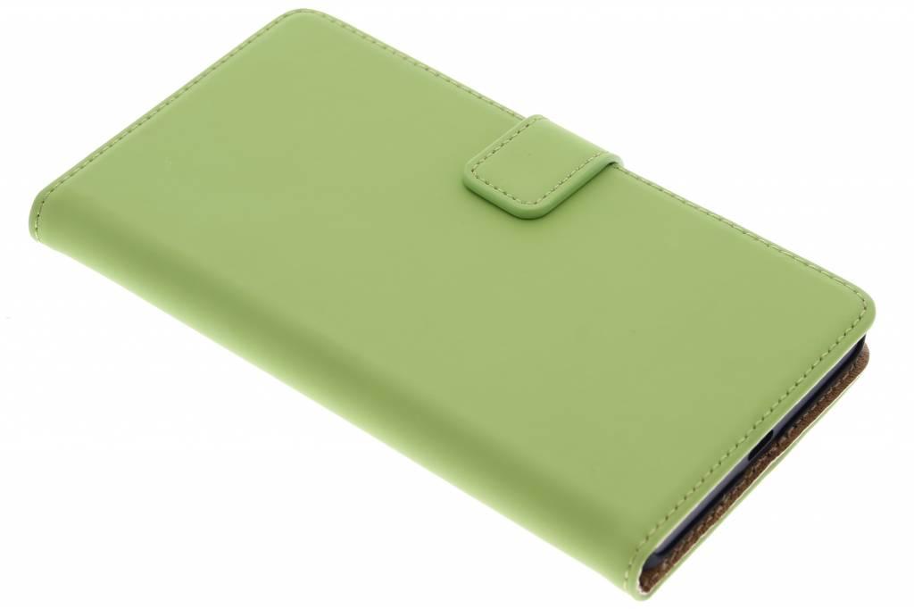Selencia Luxe Book Case voor de Microsoft Lumia 950 XL - Groen