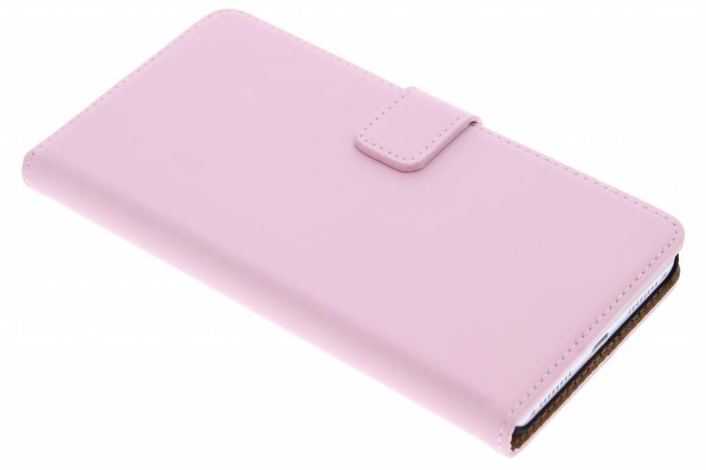 Selencia Luxe Book Case voor de Huawei Mate S - Poederroze