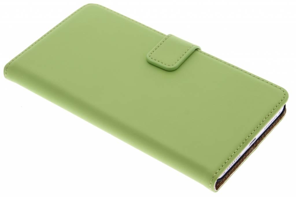 Selencia Luxe Book Case voor de Huawei Mate S - Groen