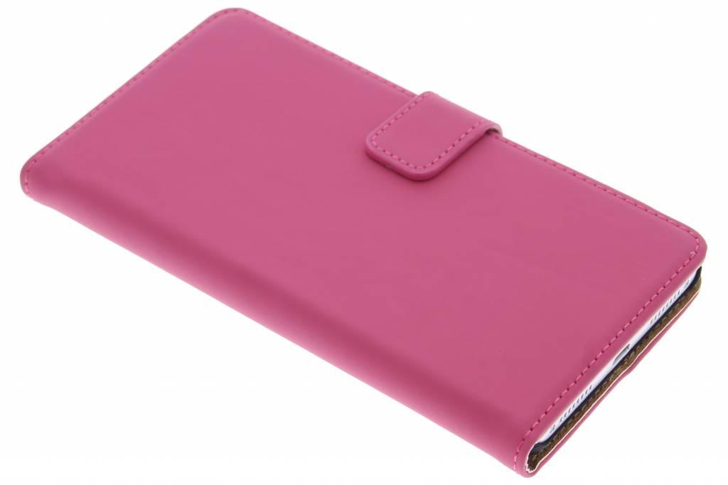 Selencia Luxe Book Case voor de Huawei Mate S - Fuchsia