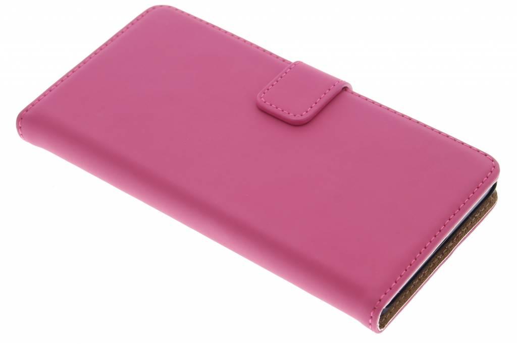 Selencia Luxe Book Case voor de Sony Xperia Z5 - Fuchsia