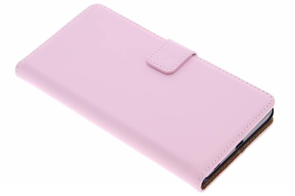 Selencia Luxe Book Case voor de Sony Xperia Z5 - Roze