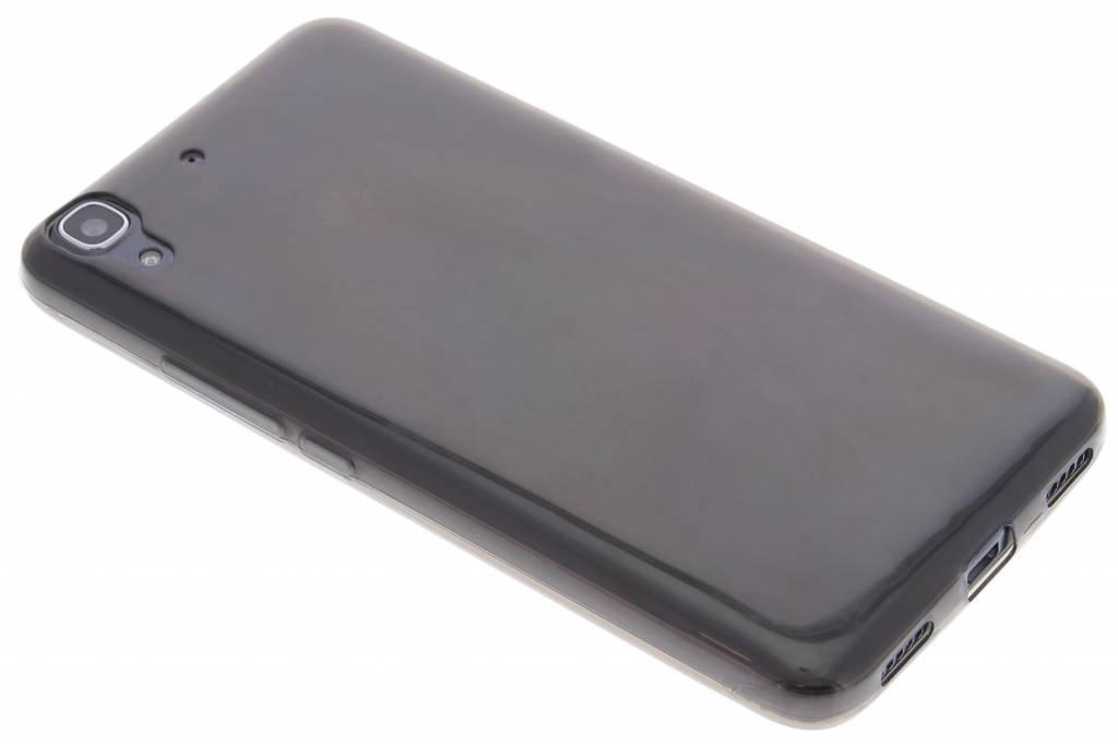 Grijs ultra thin transparant TPU hoesje voor de Huawei Y6