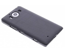 Carbon look hardcase hoesje Microsoft Lumia 950