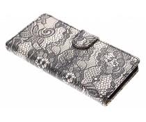 Zwart glamour design booktype LG Nexus 5X