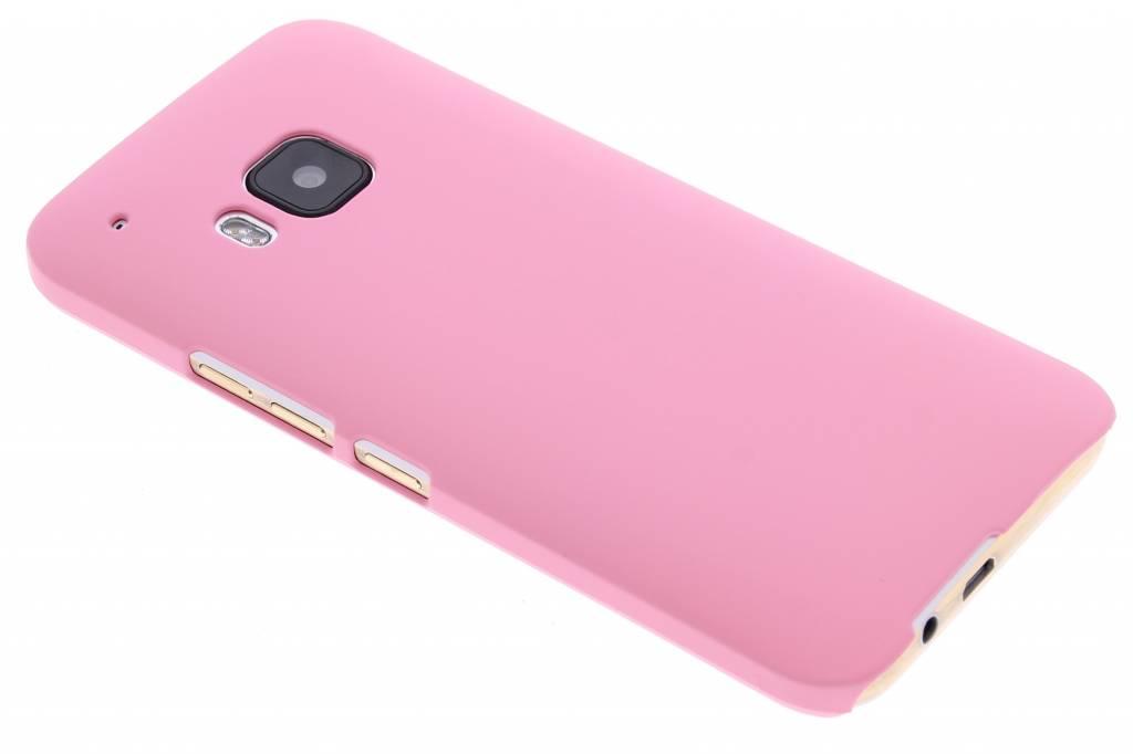 Roze effen hardcase hoesje voor de HTC One M9