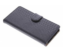 Zwart slangen booktype hoes LG Nexus 5X