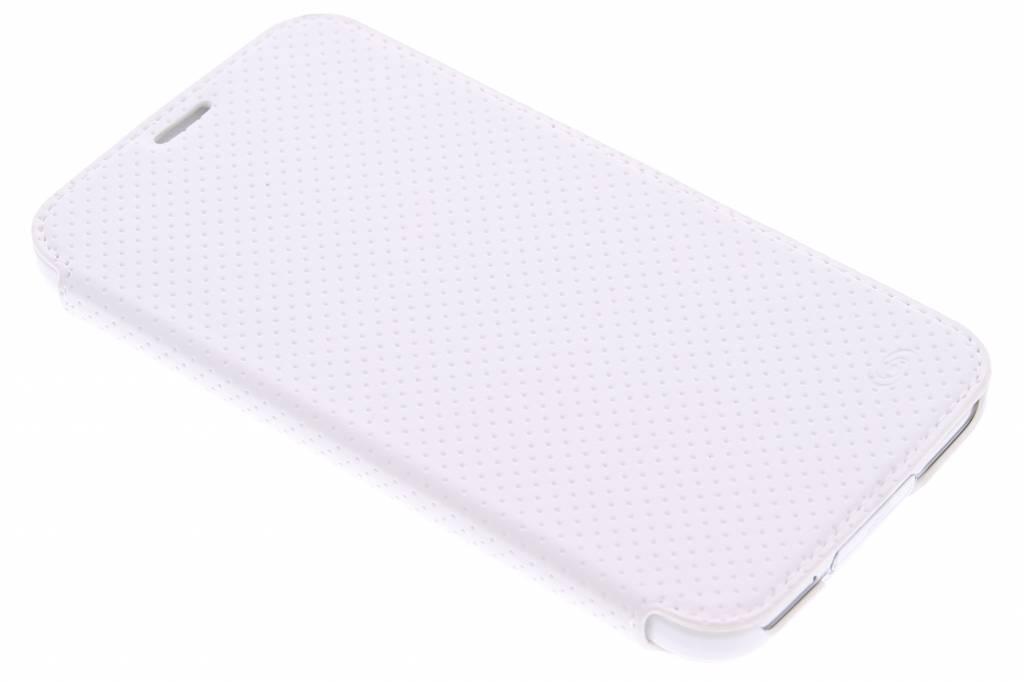 Fonex Pro Wallet Stand Case voor de Samsung Galaxy S5 (Plus) / Neo - White