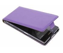 Luxe flipcase Sony Xperia Z5