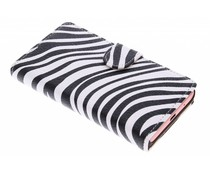 Zebra booktype hoes Sony Xperia Z5 Compact