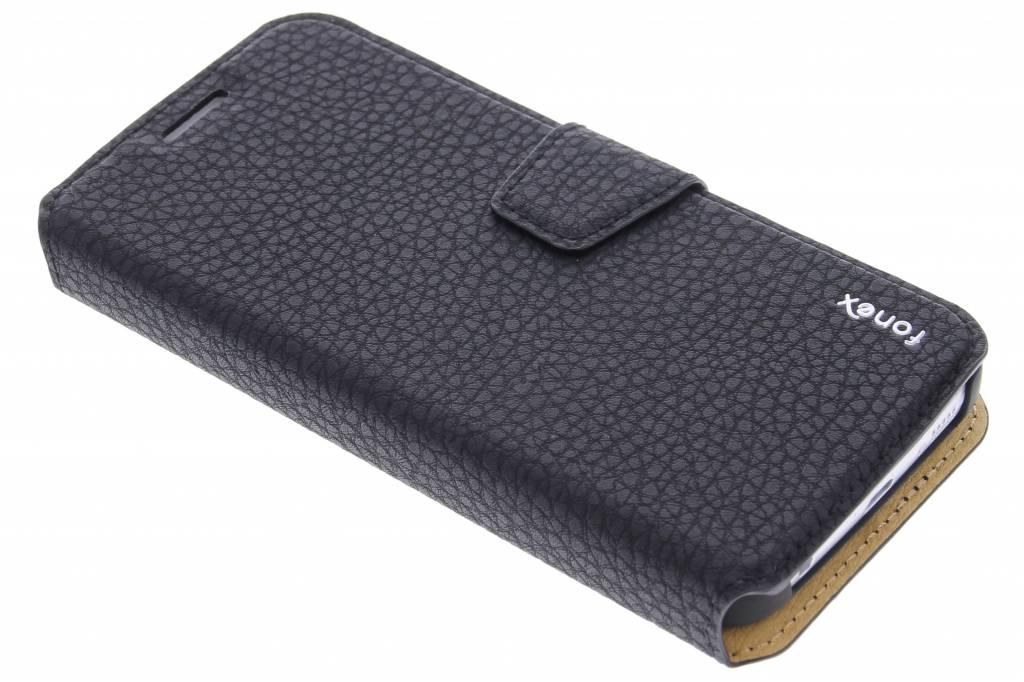 Fonex Booklet Magnetic Detachable voor de Samsung Galaxy S6 Edge - Black