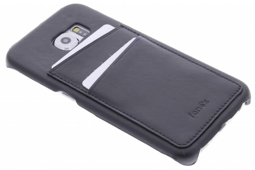 Fonex Executive Pocket Case voor de Samsung Galaxy S6 Edge - Black
