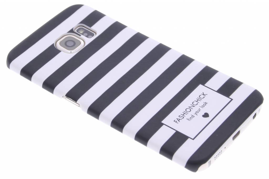 Fashionchick Stripes hardcase hoesje voor de Samsung Galaxy S6 Edge
