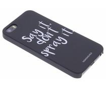 Fashionchick Don't spray it hardcase iPhone 5 / 5s / SE