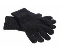 Zwart glamour touchscreen handschoenen