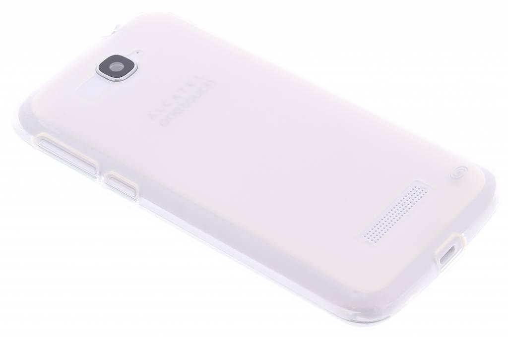 Fonex Pixel TPU Case voor de Alcatel One Touch Pop C7 - Transparent