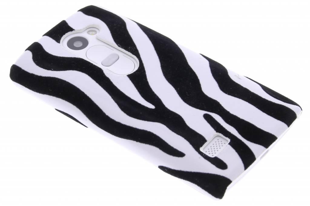 Zebra flock design hardcase hoesje voor de LG Leon