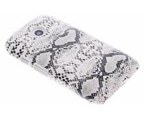 Slangen design hardcase hoesje Motorola Moto E 2015
