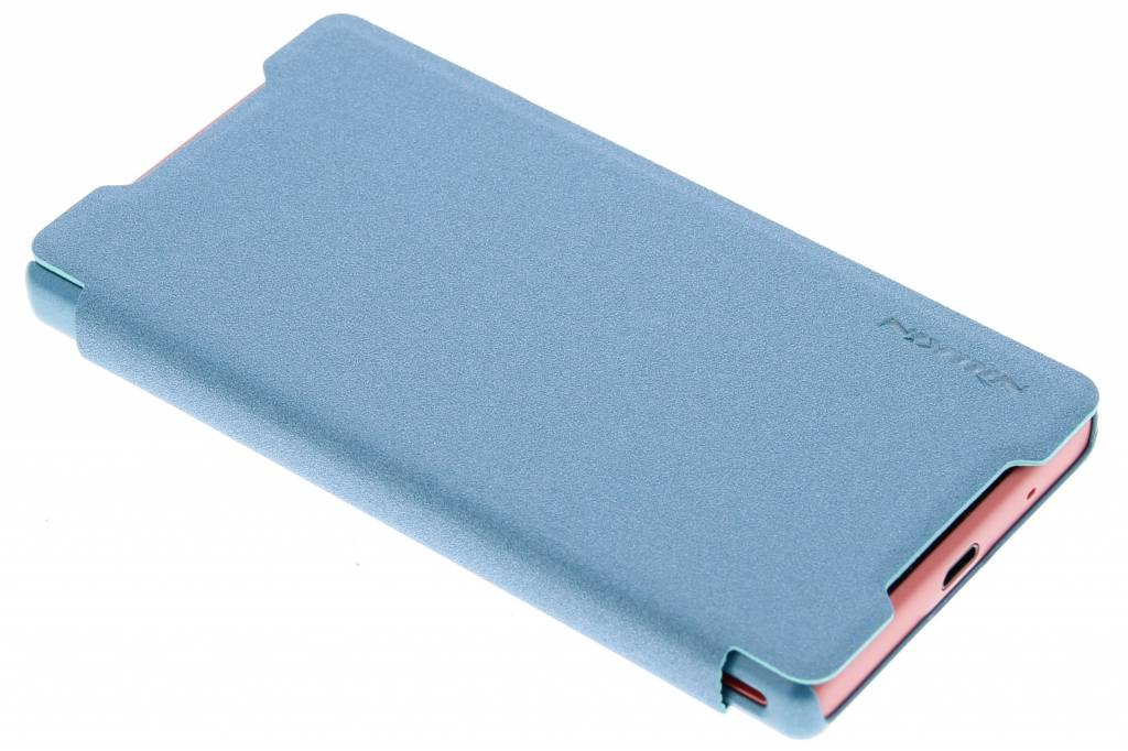 Nillkin Sparkle slim booktype hoes voor de Sony Xperia Z5 Compact - Turquoise
