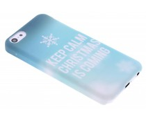 Keep Calm Christmas design hardcase iPhone 5c