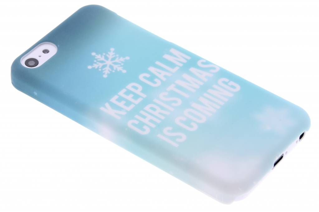 Keep Calm Christmas design hardcase hoesje voor de iPhone 5c