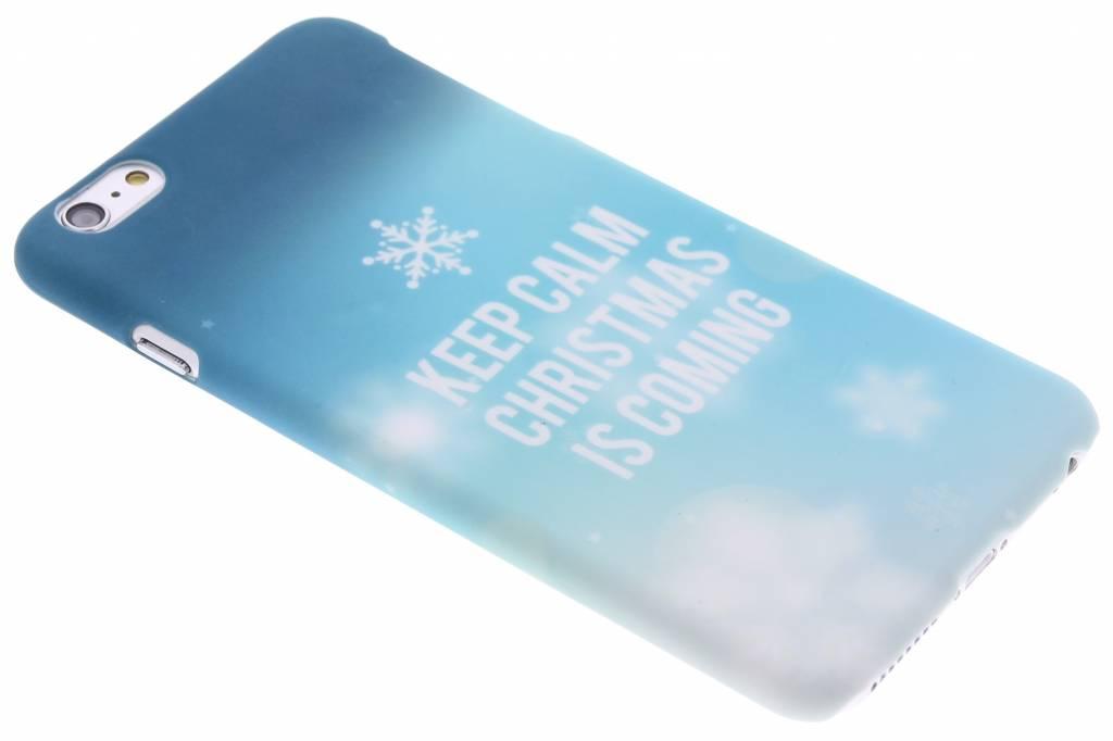 Keep Calm Christmas design hardcase hoesje voor de iPhone 6(s) Plus