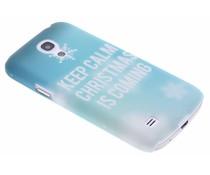 Keep Calm Christmas design hardcase Galaxy S4 Mini