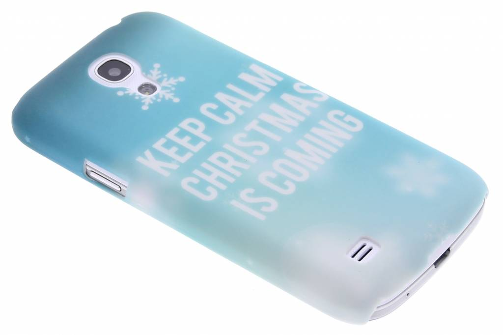 Keep Calm Christmas design hardcase hoesje voor de Samsung Galaxy S4 Mini